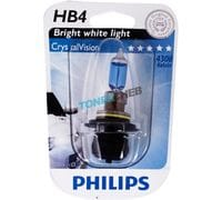 Автолампа HB4 Philips Crystal Vision Bright white light