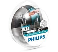 Автолампы H1 Philips X-treme Vision +130%