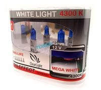 Автолампы H1 Clear light White Light 4300K