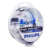 Автолампы H1 Philips Crystal Vision Bright white light