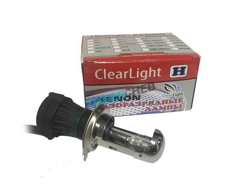 БИксеноновая лампа ClearLight H4 12000K
